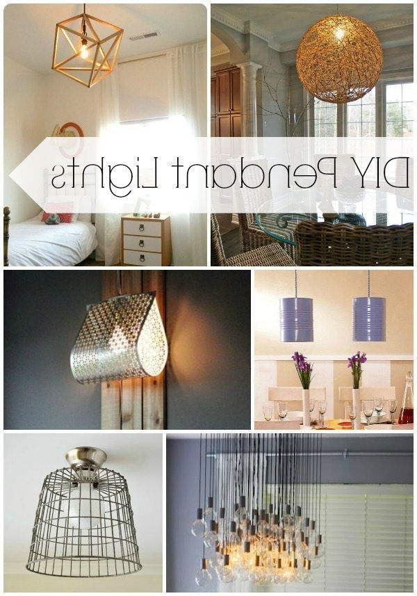 Journey Outdoor Wall Lanterns Within Widely Used Diy Pendant Lights – Lights That Look Amazing & Don't (View 5 of 20)