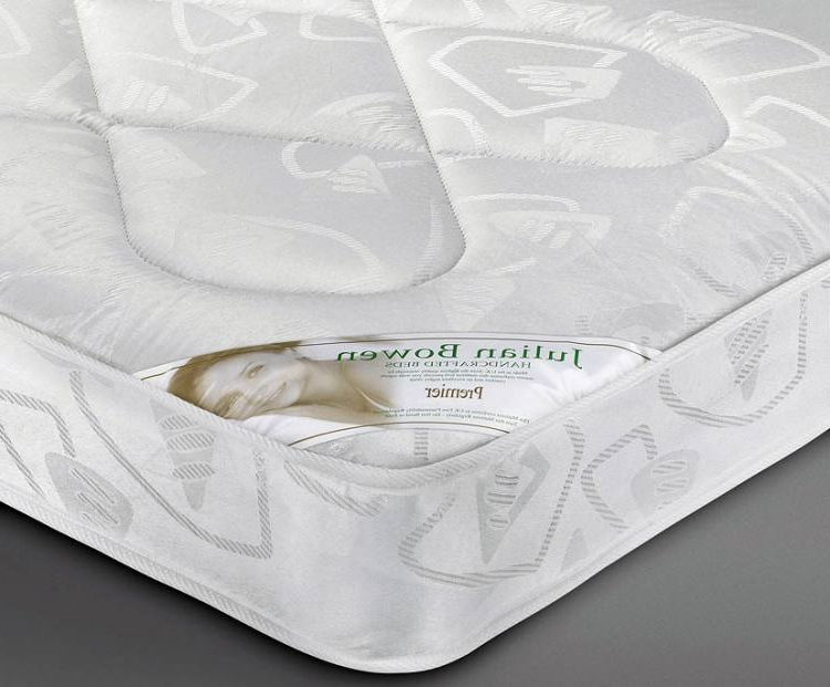 Julian Bowen – Premier Coil Sprung Bed Mattresses – Single Regarding Most Up To Date Debbie Coil Sectional Futon Sofas (View 20 of 20)