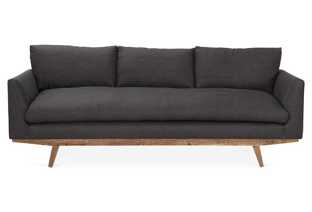 Katie Charcoal Sofas For Newest Arden Sofa In Charcoalbenchmade (View 5 of 20)