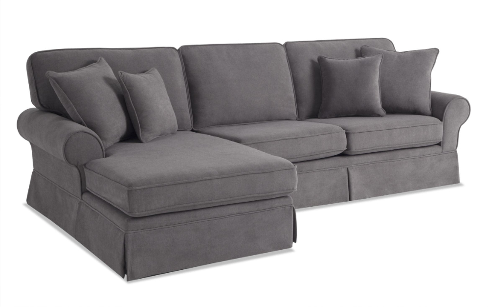 Katie Charcoal Sofas Within Favorite Katie Charcoal 2 Piece Left Arm Facing Sectional (View 2 of 20)