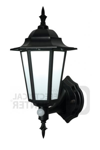 Keiki Matte Black Outdoor Wall Lanterns Intended For 2018 Saxby 54555 Evesham Matt Black Traditional Outdoor Led (View 12 of 20)