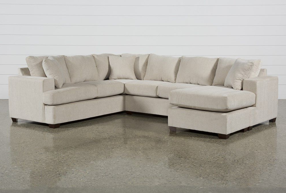 Kerri Sand 2 Piece Sectional With Left Arm Facing Sofa With Regard To Fashionable Hannah Left Sectional Sofas (View 13 of 20)