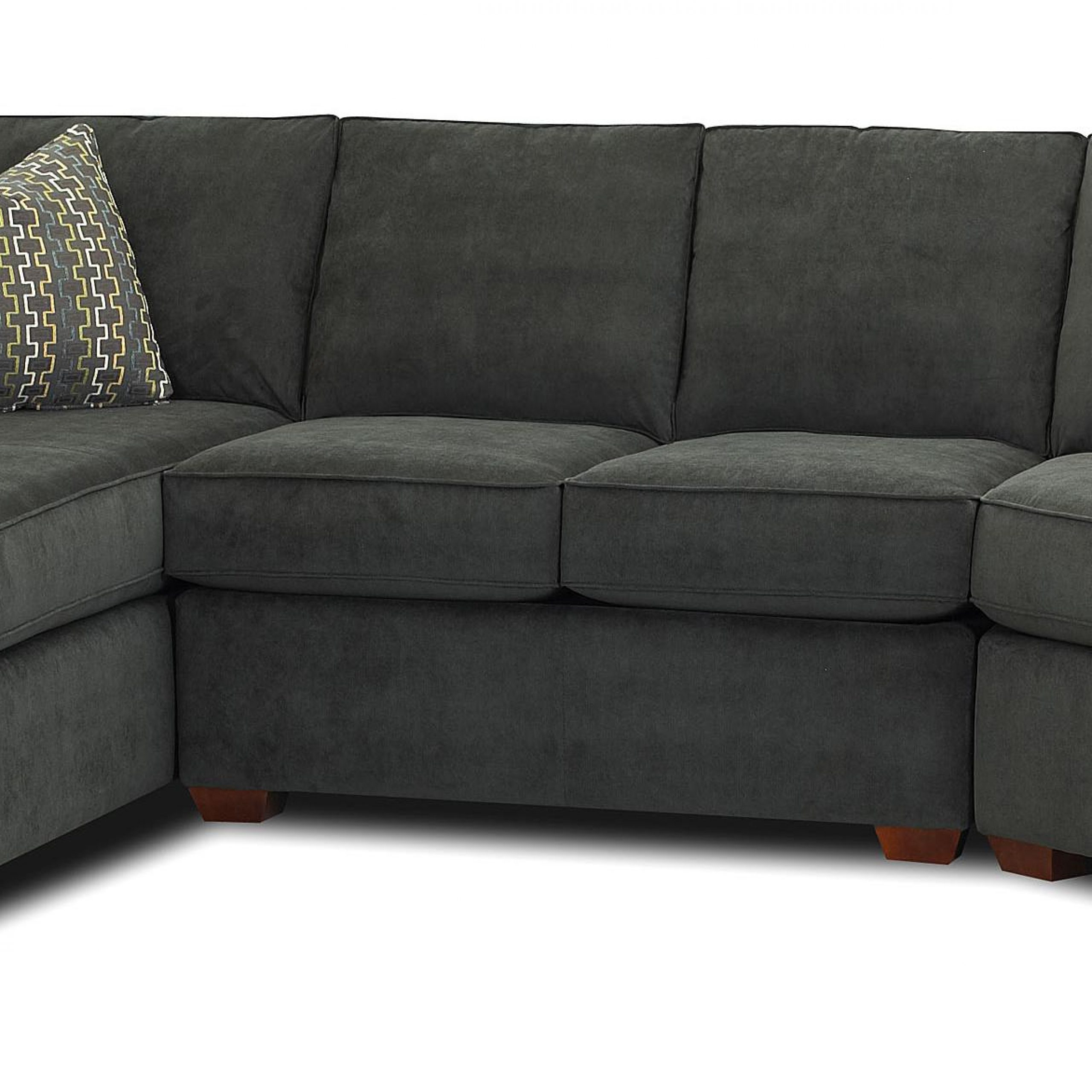Kiefer Right Facing Sectional Sofas Intended For Most Recent Sectional Sofa With Right Facing Sofa Chaiseklaussner (View 10 of 20)