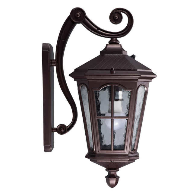 Koda Outdoor Led Coach Wall Light Lantern With Dusk To With Regard To Newest Mcdonough Wall Lanterns (View 1 of 20)
