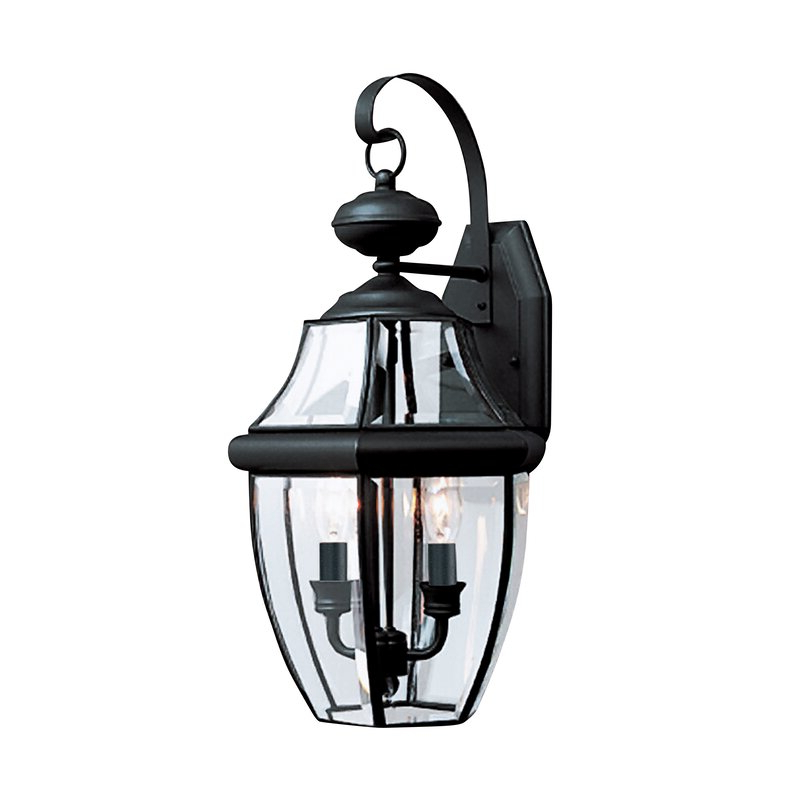 Laceyville 2 Light Outdoor Wall Lantern & Reviews (View 1 of 20)