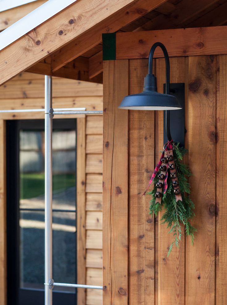 Lainey Outdoor Barn Lights For Newest The Original™ Warehouse Gooseneck Light In  (View 12 of 20)