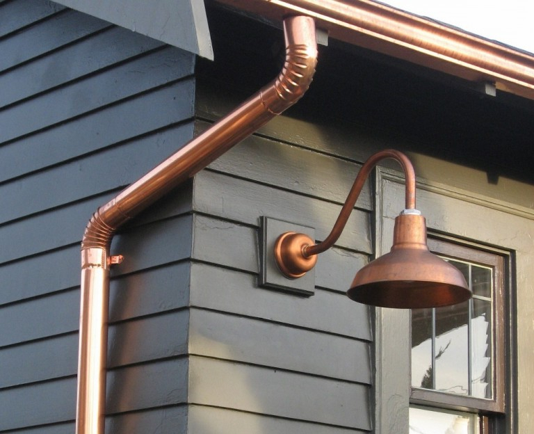 Lainey Outdoor Barn Lights With Most Popular American Made Gooseneck Barn Lighting For Outdoor (View 1 of 20)