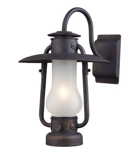 Landmark Lighting Chapman 1 Light Sconce In Matte Black Within Popular Bensonhurst Matt Black Wall Lanterns (View 15 of 20)