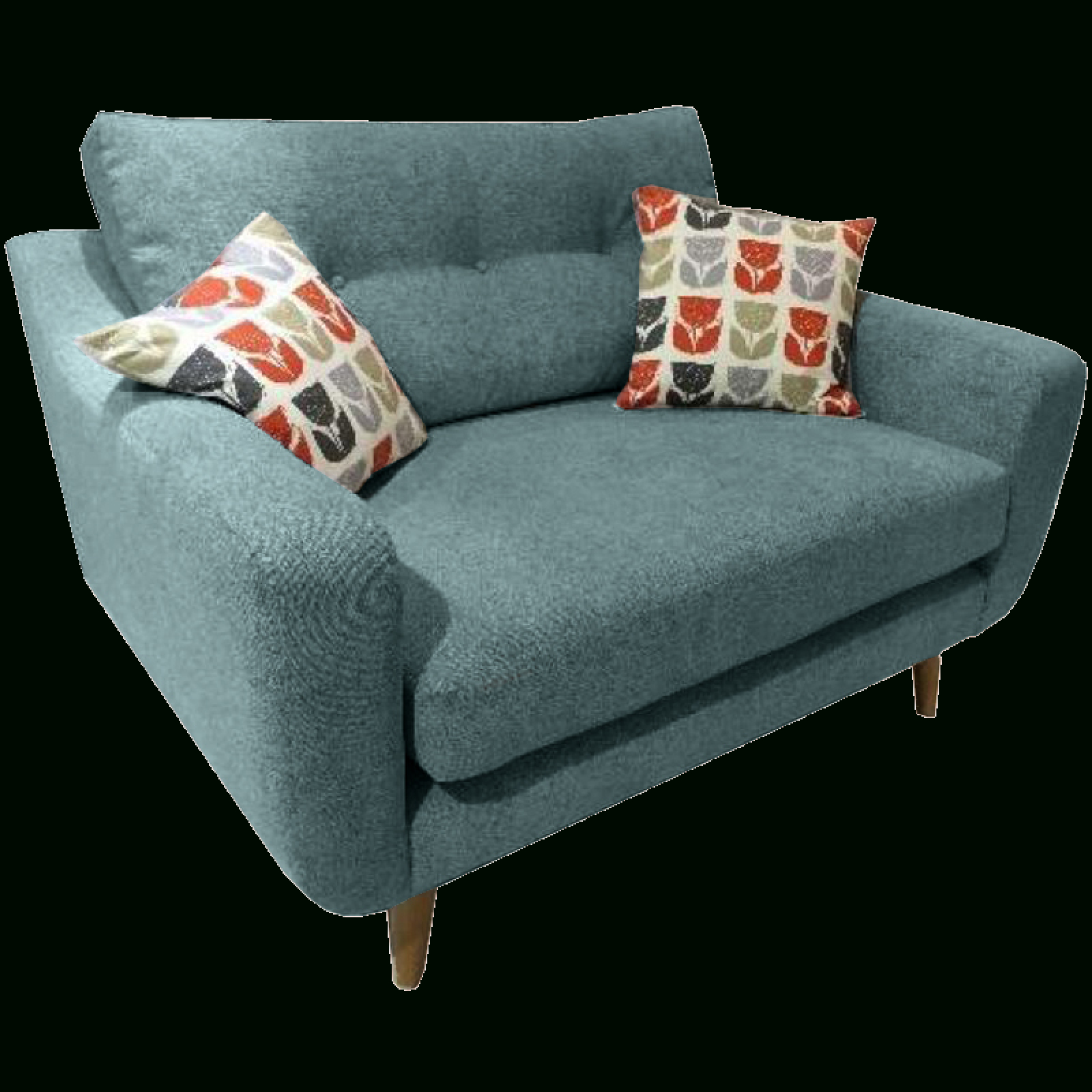 Latest 4pc French Seamed Sectional Sofas Oblong Mustard Pertaining To Lisbon Snuggler Sofa Chairwhitemeadow (View 5 of 20)