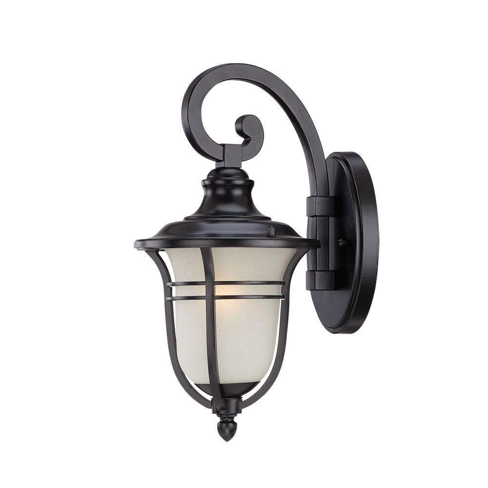 Latest Acclaim Lighting Montclair Collection 1 Light Matte Black Within Binegar Matte Black Outdoor Wall Lanterns (View 3 of 20)