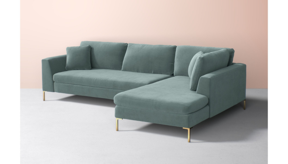 Latest Alani Mid Century Modern Sectional Sofas With Chaise Regarding Edlyn Chaise Sectional (View 1 of 20)