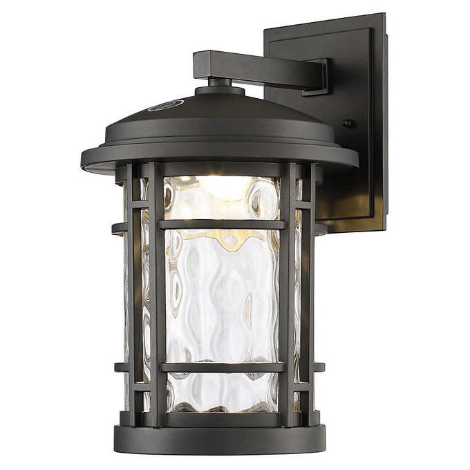 """Latest Altair 9"""" Led Outdoor Wall Lantern 772 Lumens Burnished Within Clarence Black Outdoor Wall Lanterns (View 6 of 20)"""
