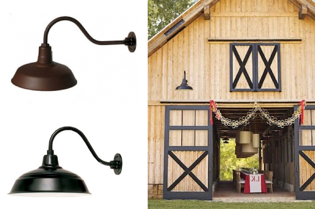 Latest Arryonna Outdoor Barn Lights Throughout Gooseneck Outdoor Barn Light – The Finest Innovations In (View 9 of 20)