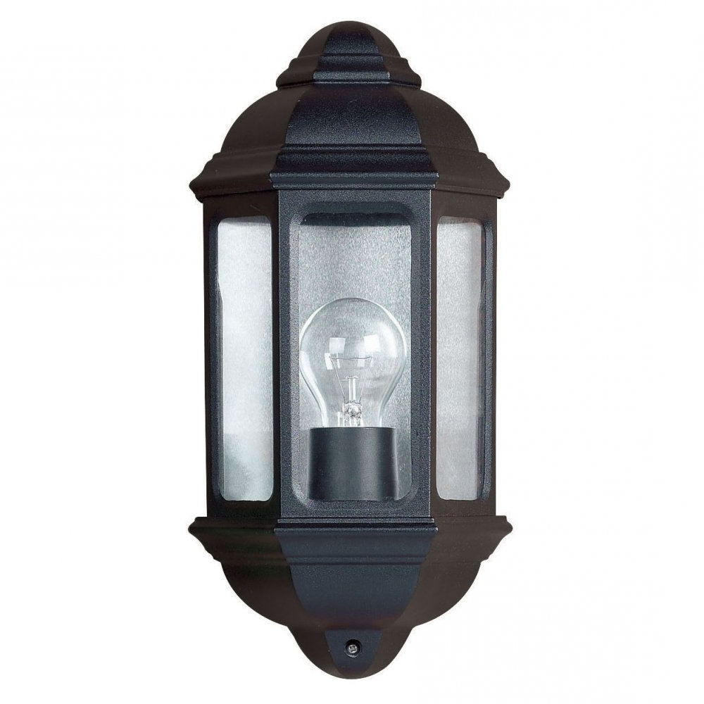 Latest Black Outdoor Wall Lights Provide Good Illumination For Intended For Edinburg Black Outdoor Wall Lanterns (View 19 of 20)