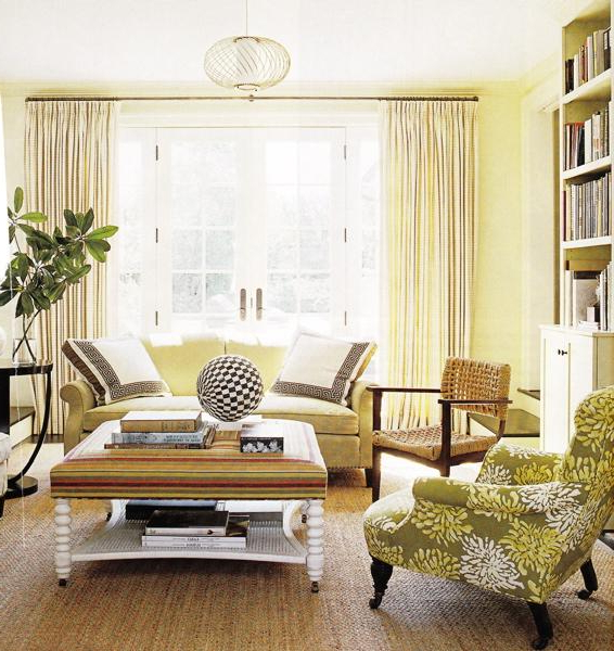 Latest Cream Living Room Walls Design Ideas Throughout 4pc French Seamed Sectional Sofas Oblong Mustard (View 13 of 20)