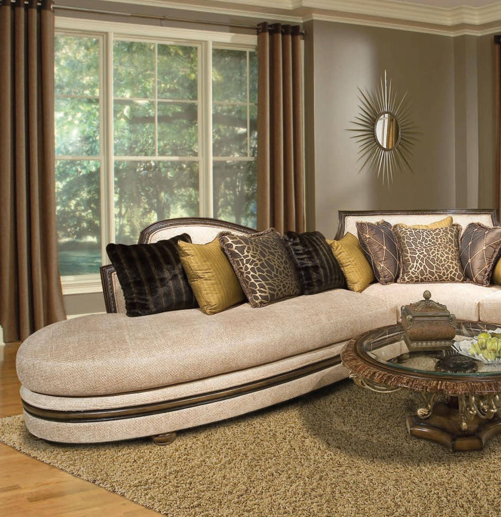 Latest Hannah Left Sectional Sofas Within Buy Benetti's Ravenna Sectional Sofa Left Hand Chase In (View 14 of 20)
