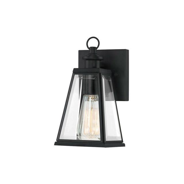 Latest Quoizel Pax8305mbk Paxton 1 Light 9 Inch Matte Black In Keiki Matte Black Outdoor Wall Lanterns (View 16 of 20)