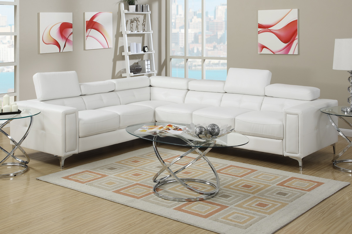Latest White Metal Sectional Sofa – Steal A Sofa Furniture Outlet For Sectional Sofas In White (View 9 of 20)