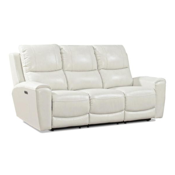 Laurel Gray Sofas Within Latest Steve Silver Laurel 3 Seat Grey Leather And Polyurethane (View 5 of 20)