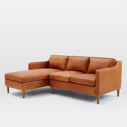 Leather Chaise (View 7 of 20)