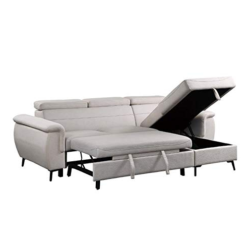 Lexicon Cadence Microfiber Reversible Sectional Sofa In Within Well Known Harmon Roll Arm Sectional Sofas (View 15 of 20)