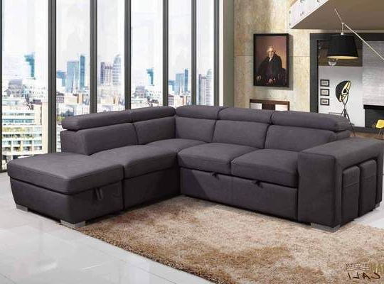 Liberty Sectional Futon Sofas With Storage In Well Known Urban Cali Sleeper Sectional Right Facing Chaise Pasadena (View 4 of 20)