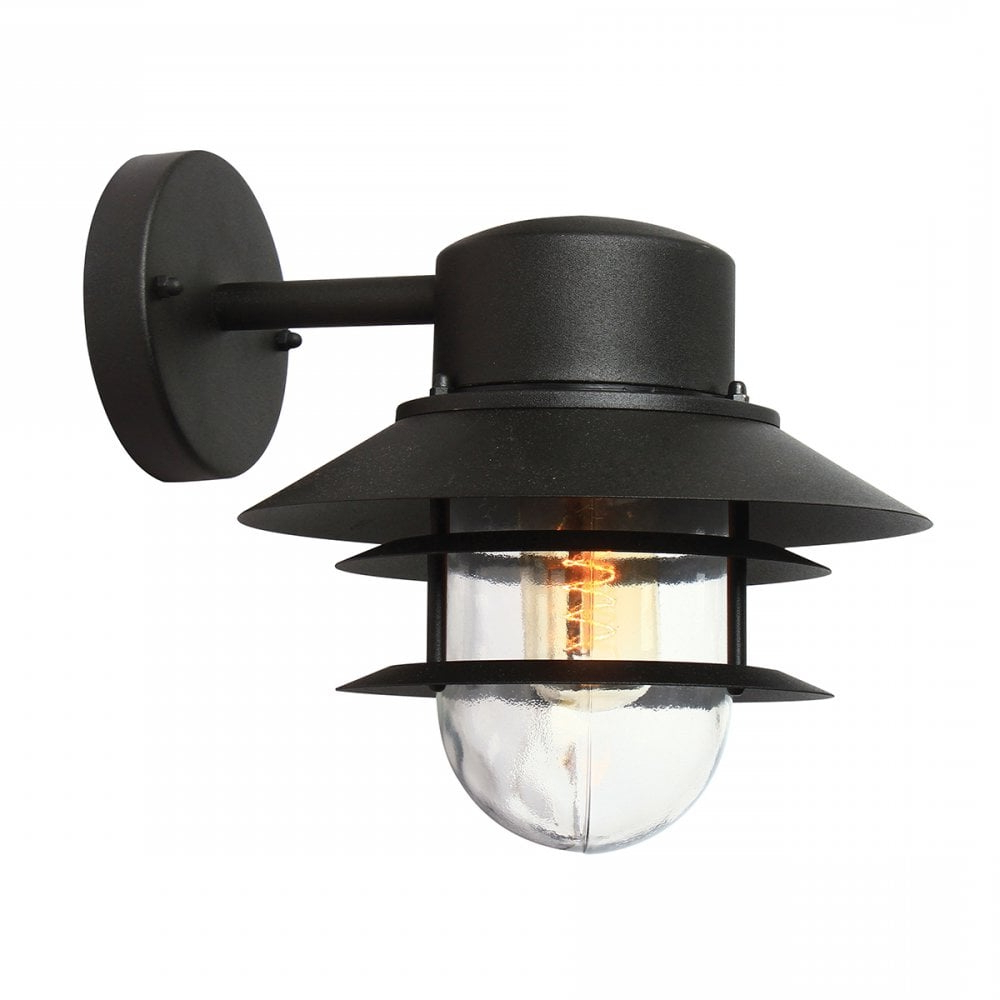 Lighting And In Castellanos Black Outdoor Wall Lanterns (View 12 of 20)