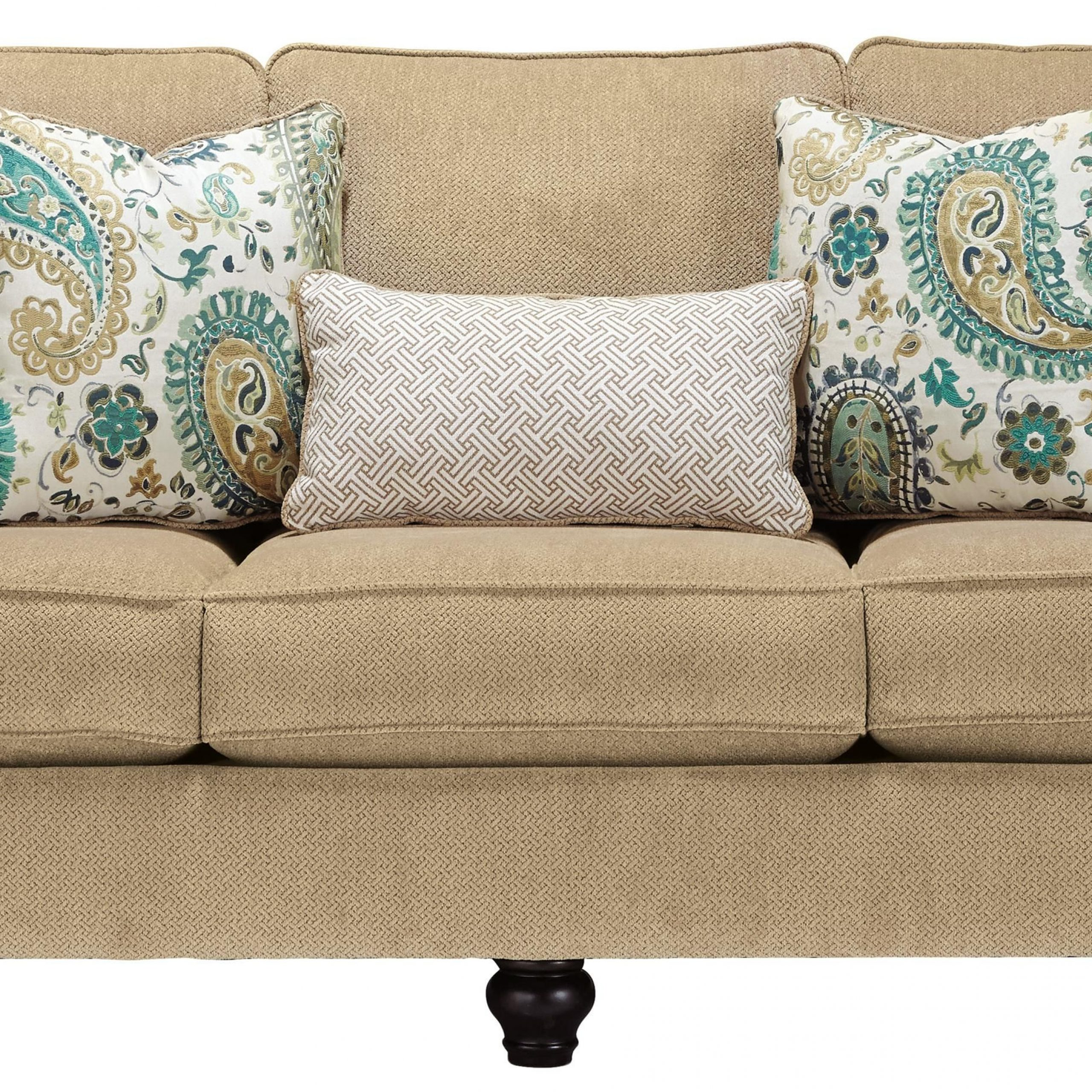 Lochian Sofa With Reversible Coil Seat Cushions & English Intended For Newest Debbie Coil Sectional Futon Sofas (View 14 of 20)