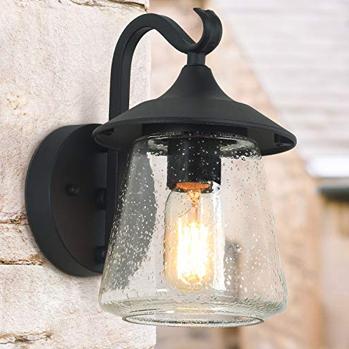 Log Barn Outdoor Wall Light,farmhouse Exterior Lantern In Inside Well Known Leslie Black Outdoor Barn Lights (View 16 of 20)
