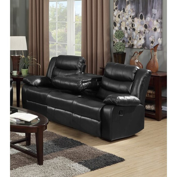 Magnolia Sectional Sofas With Pillows Throughout Well Known Magnolia Home 38'' Pillow Top Arm Reclining Sofa & Reviews (View 2 of 20)