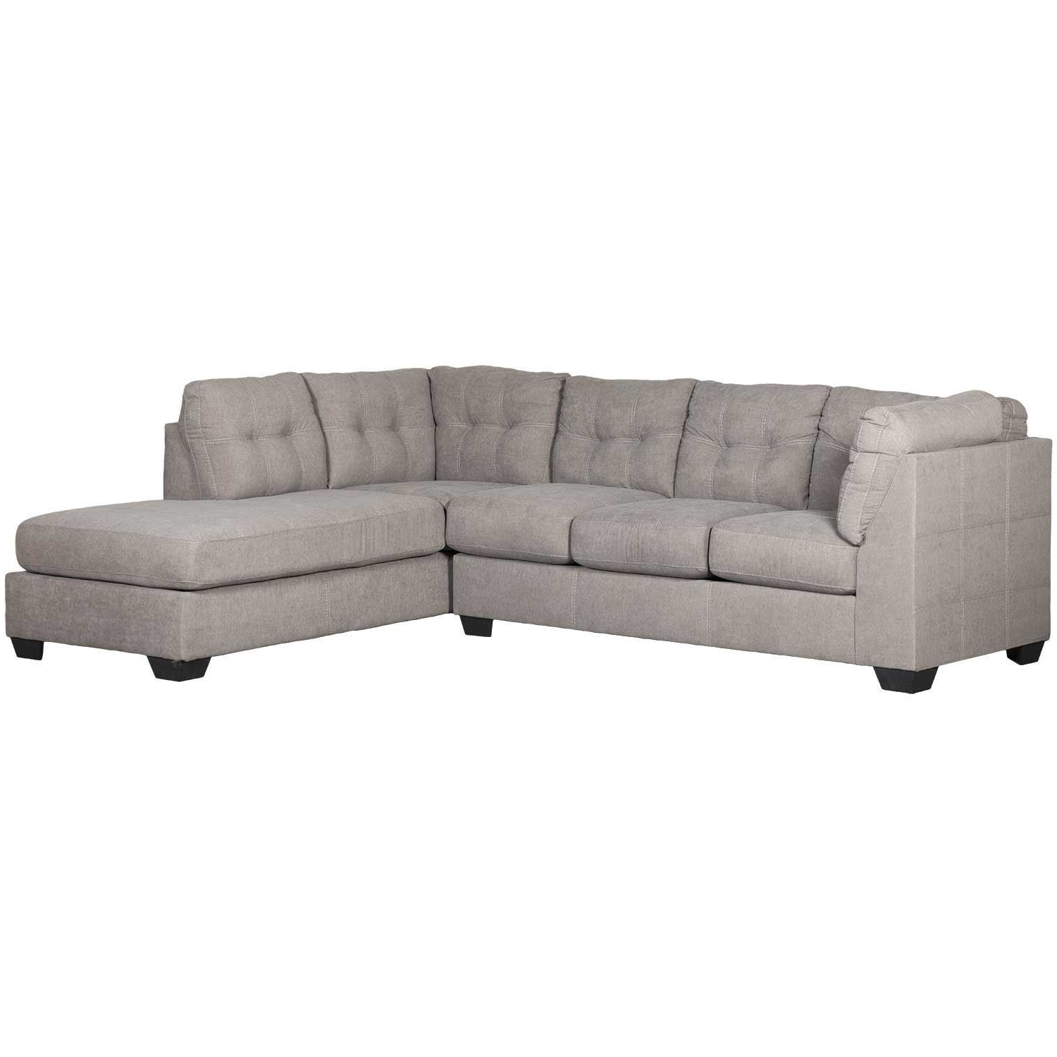 Maier Charcoal 2 Piece Sectional With Raf Chaise Inside 2018 2pc Burland Contemporary Sectional Sofas Charcoal (View 20 of 20)