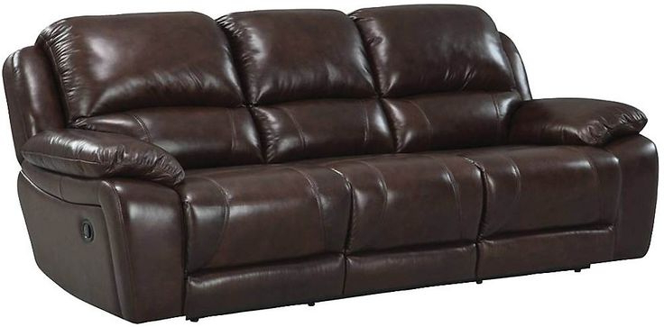 Marco Genuine Leather Power Reclining Sofa – Chocolate With Regard To Current Marco Leather Power Reclining Sofas (View 13 of 20)