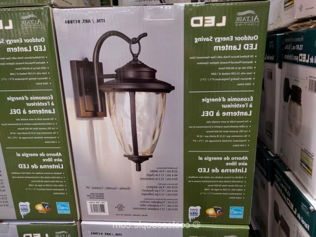 Marina Way Bronze 2 – Bulb Outdoor Barn Lights With Popular Outdoor Wall Lights Costco – Outdoor Lighting Ideas (View 17 of 20)