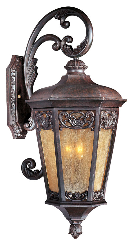 Maxim 40175nscu Lexington Vx Traditional Colonial Umber 30 For Favorite Malak Outdoor Wall Lanterns (View 7 of 20)