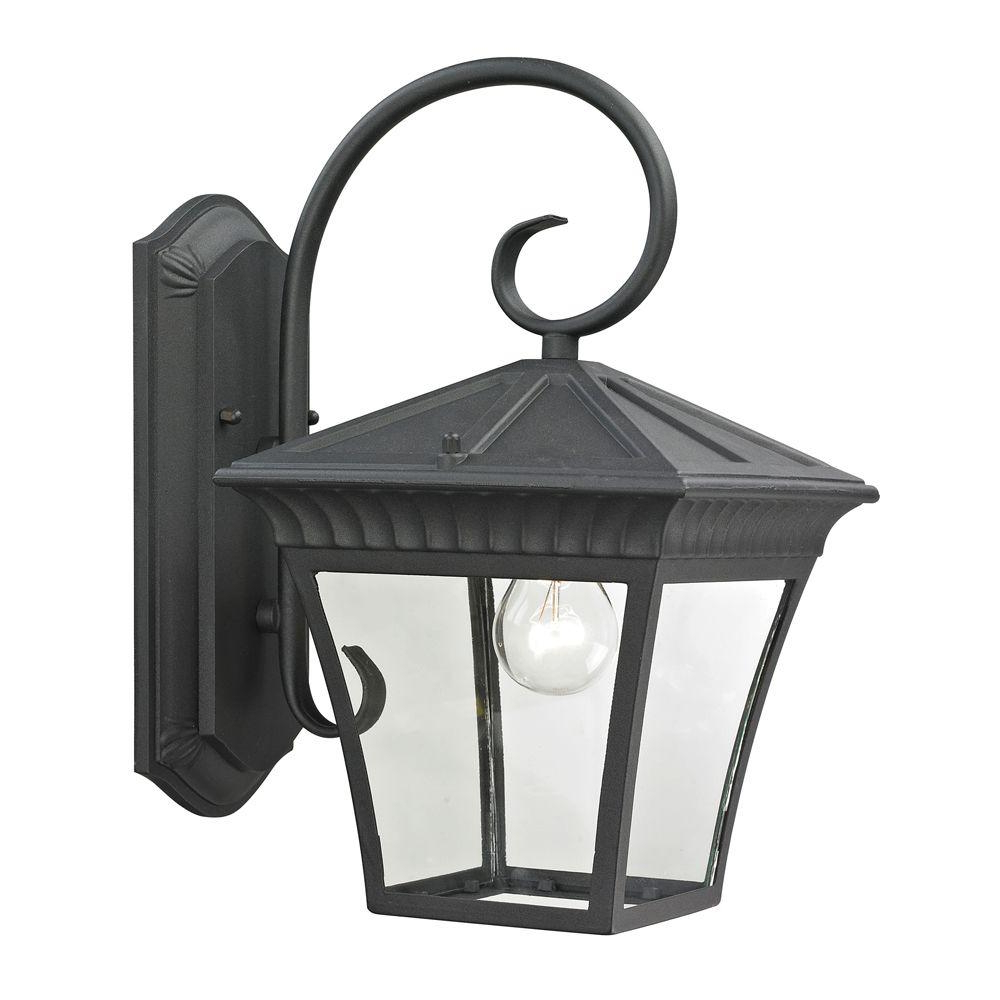 Featured Photo of Mccay Matte Black Outdoor Wall Lanterns