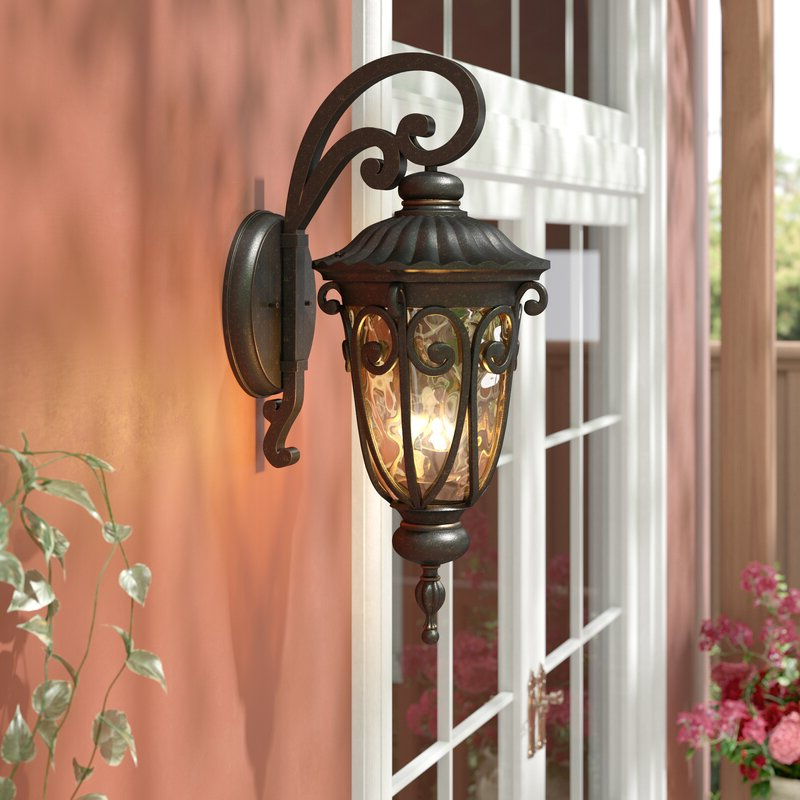 Mcdonough Wall Lanterns With Fashionable Astoria Grand Erickson 3 Light Outdoor Wall Lantern (View 9 of 20)