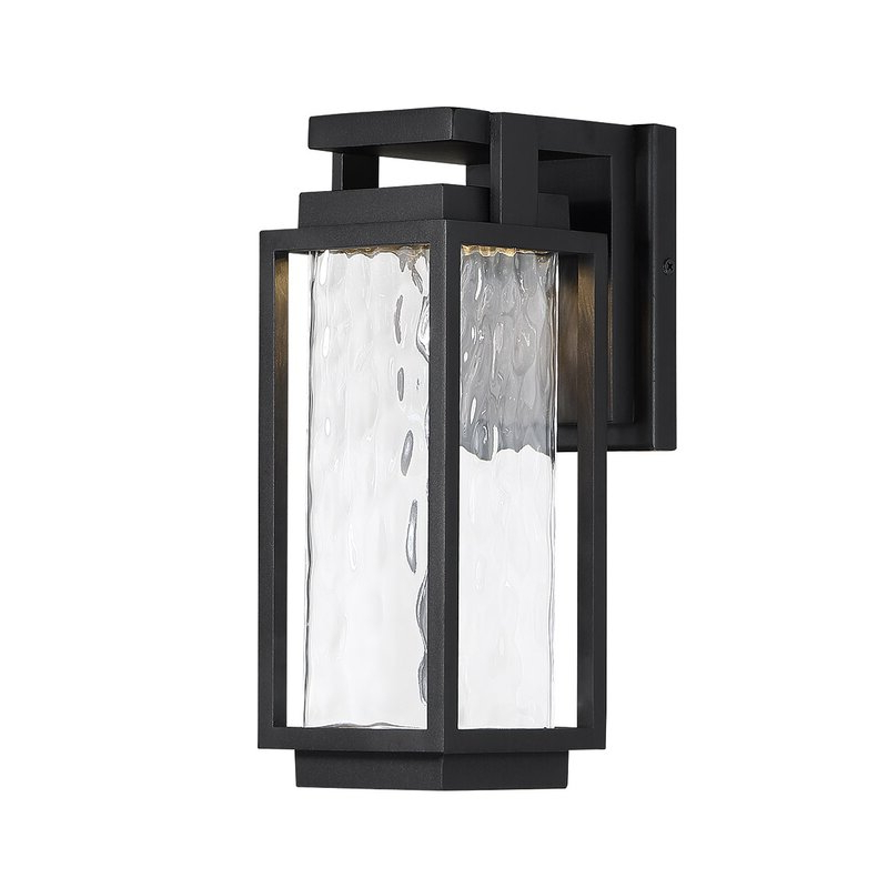 Modern Forms Two Ifsea Black Integrated Led Outdoor Throughout Preferred Chazz Integrated Led Outdoor Armed Sconces (View 8 of 20)