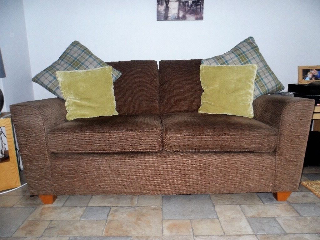 Montana Sofas Pertaining To Most Recently Released Next Montana Brown (mocha) 2 Seater Sofa: Very Good (View 13 of 20)
