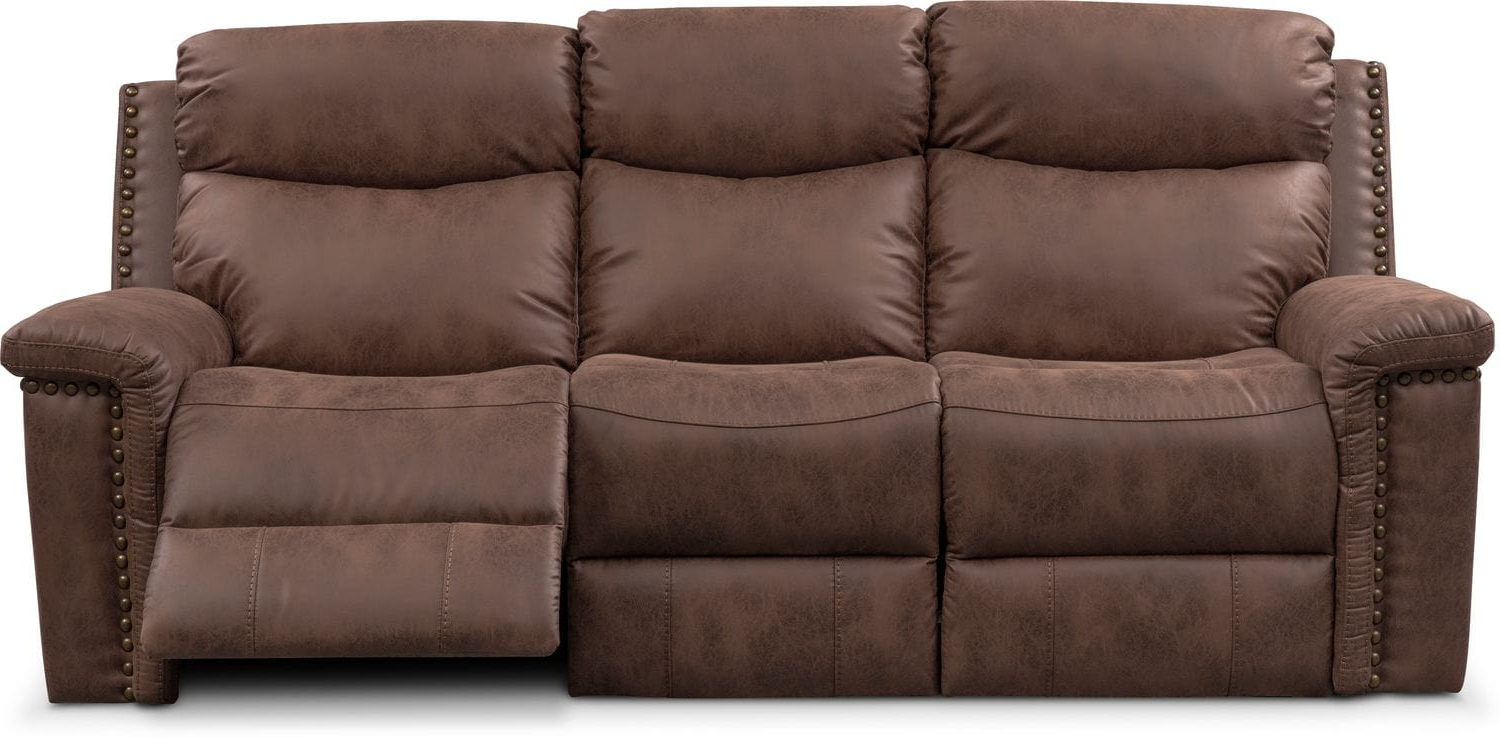 Montana Sofas Throughout Most Current Montana Dual Manual Reclining Sofa (View 16 of 20)