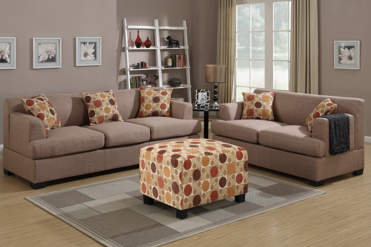 Montreal Iv Beige Fabric Sofa – Steal A Sofa Furniture Pertaining To 2019 Beige Sofas (View 11 of 20)