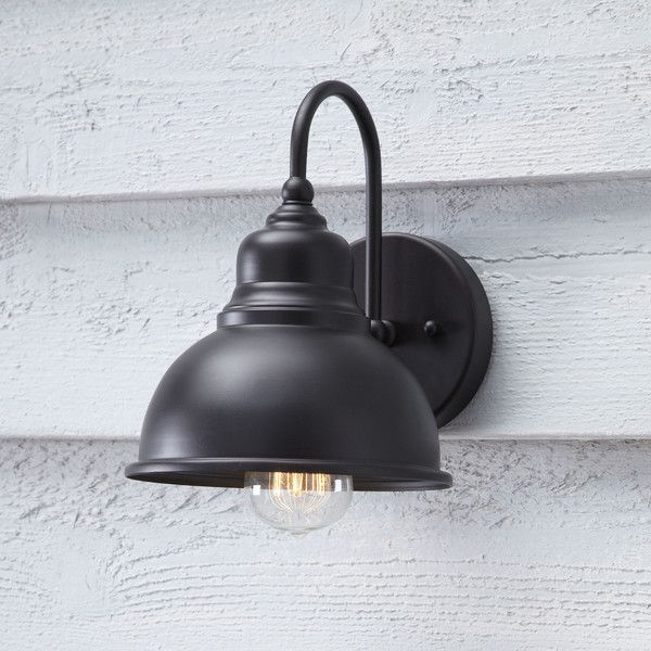 Most Current Aleena Outdoor Barn Lights Pertaining To Welling Outdoor Sconce (View 12 of 20)