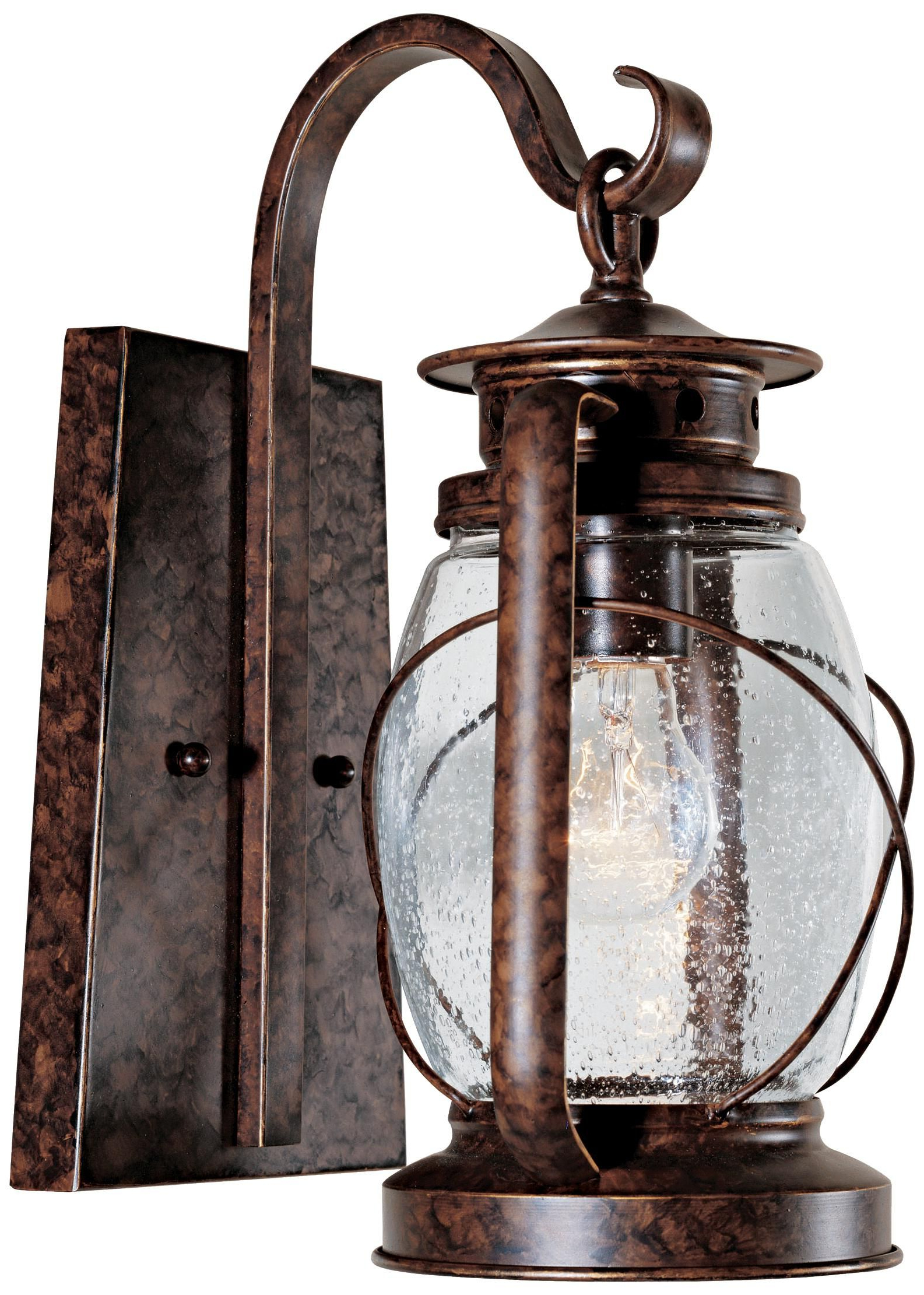 """Most Current Chicopee 2 – Bulb Glass Outdoor Wall Lanterns Pertaining To Smith Mountain 13 1/2"""" High Outdoor Wall Light – #j (View 18 of 20)"""