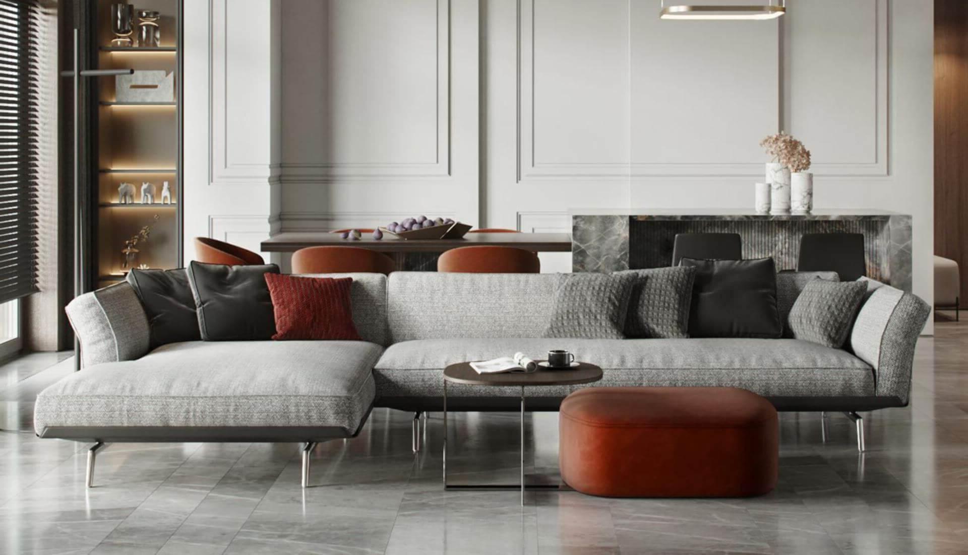 Most Current Flexform Este Modular Sofa – Dream Design Interiors Ltd In Dream Navy 3 Piece Modular Sofas (View 15 of 20)