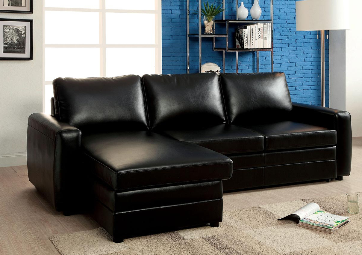 Most Current Hartford Storage Sectional Futon Sofas With Black Convertible Sofa Bed Sectional  Umf (View 7 of 20)