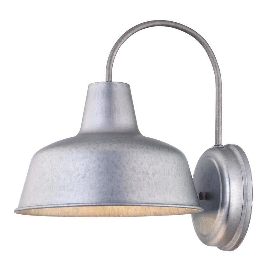 Most Popular Aleena Outdoor Barn Lights Pertaining To Shop Portfolio Ellicott  (View 14 of 20)