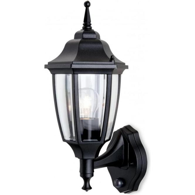 Most Popular Edinburg Black Outdoor Wall Lanterns With Regard To Firstlight Faro Single Light Outdoor Wall Lantern In Black (View 17 of 20)