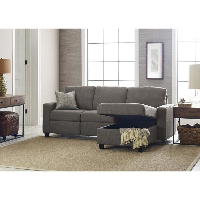 """Most Popular Palisades 89"""" Wide Reclining Sofa & Chaise (View 10 of 20)"""