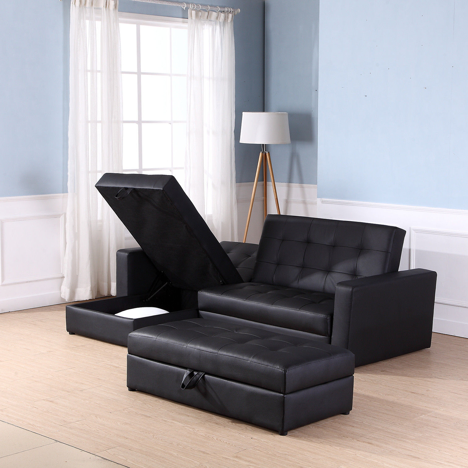Most Popular Sofa Bed Storage Sleeper Chaise Loveseat Couch Sectional For Live It Cozy Sectional Sofa Beds With Storage (View 13 of 20)