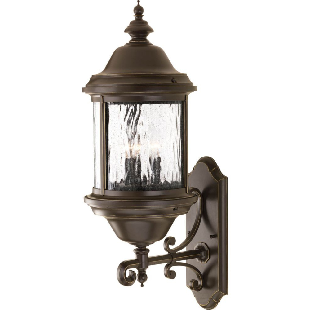Most Popular Tilley Olde Bronze Water Glass Outdoor Wall Lanterns With Regard To Hampton Bay Hampton Bay Mission Style Exterior Wall (View 17 of 20)