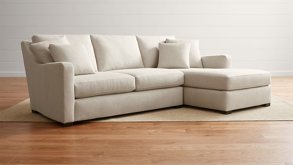 Most Recent Hannah Left Sectional Sofas Inside Verano Left Arm Beige Sectional With Chaise (View 17 of 20)